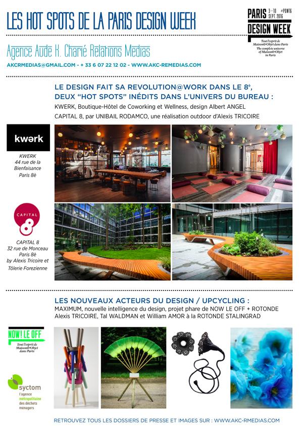 NEWS HOTS SPOTS PARIS DESIGN WEEK AGENCE AUDE K CHARIE_Page_1_BD